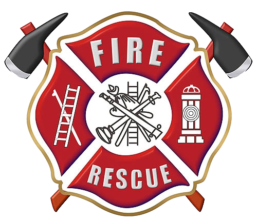 Firefighter maltese cross vector